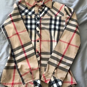 Burberry flannel ♥️